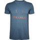 North Bend Vertical t-shirt Heren blauw